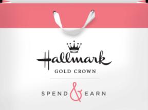 Spend $15 at Hallmark Gold Crown