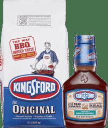 Kingsford® BBQ Sauce & Kingsford® Original Charcoal Combo