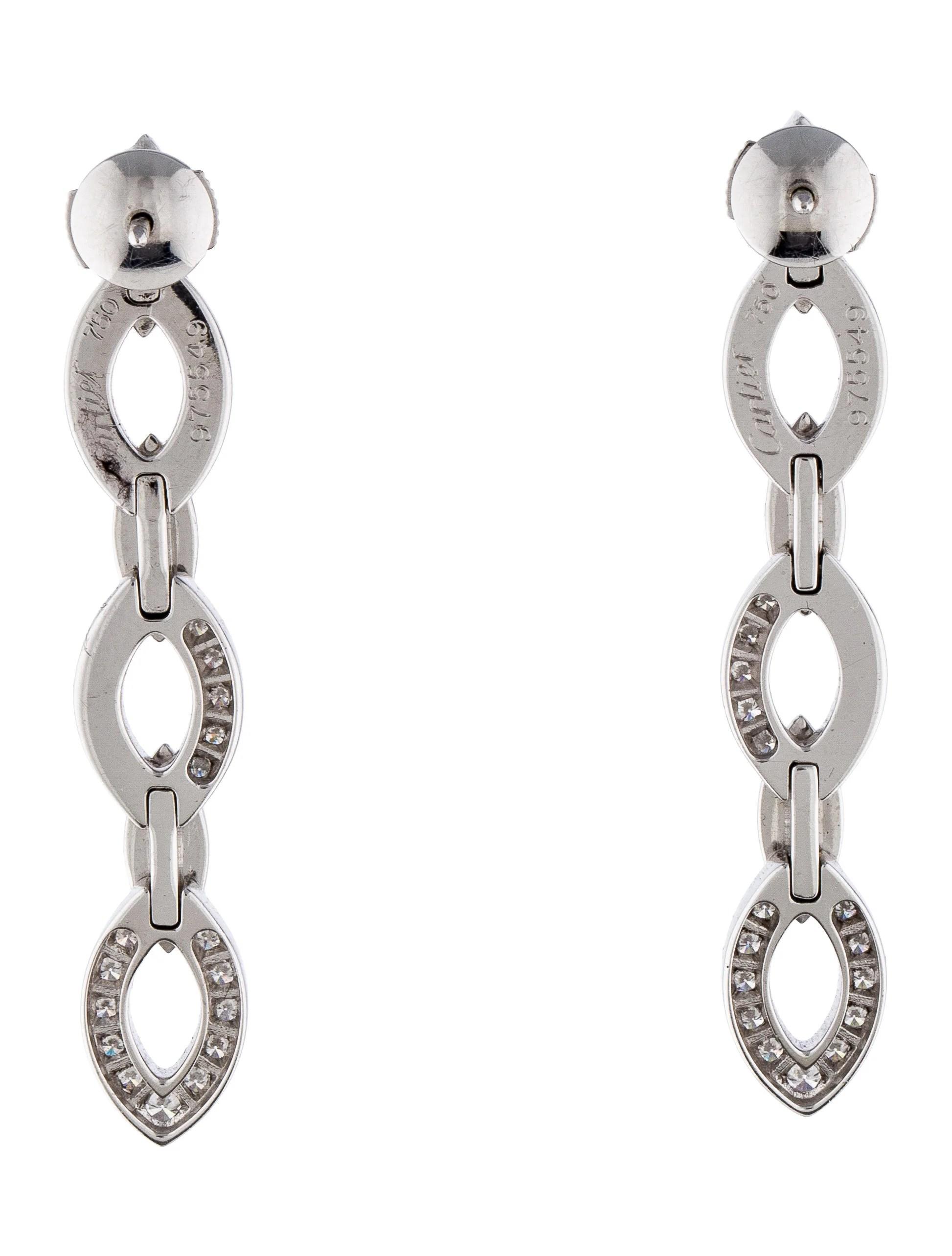 Cartier Daidea Drop Earrings