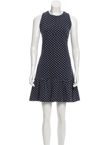 Mother of Pearl Polka Dot Mini Dress