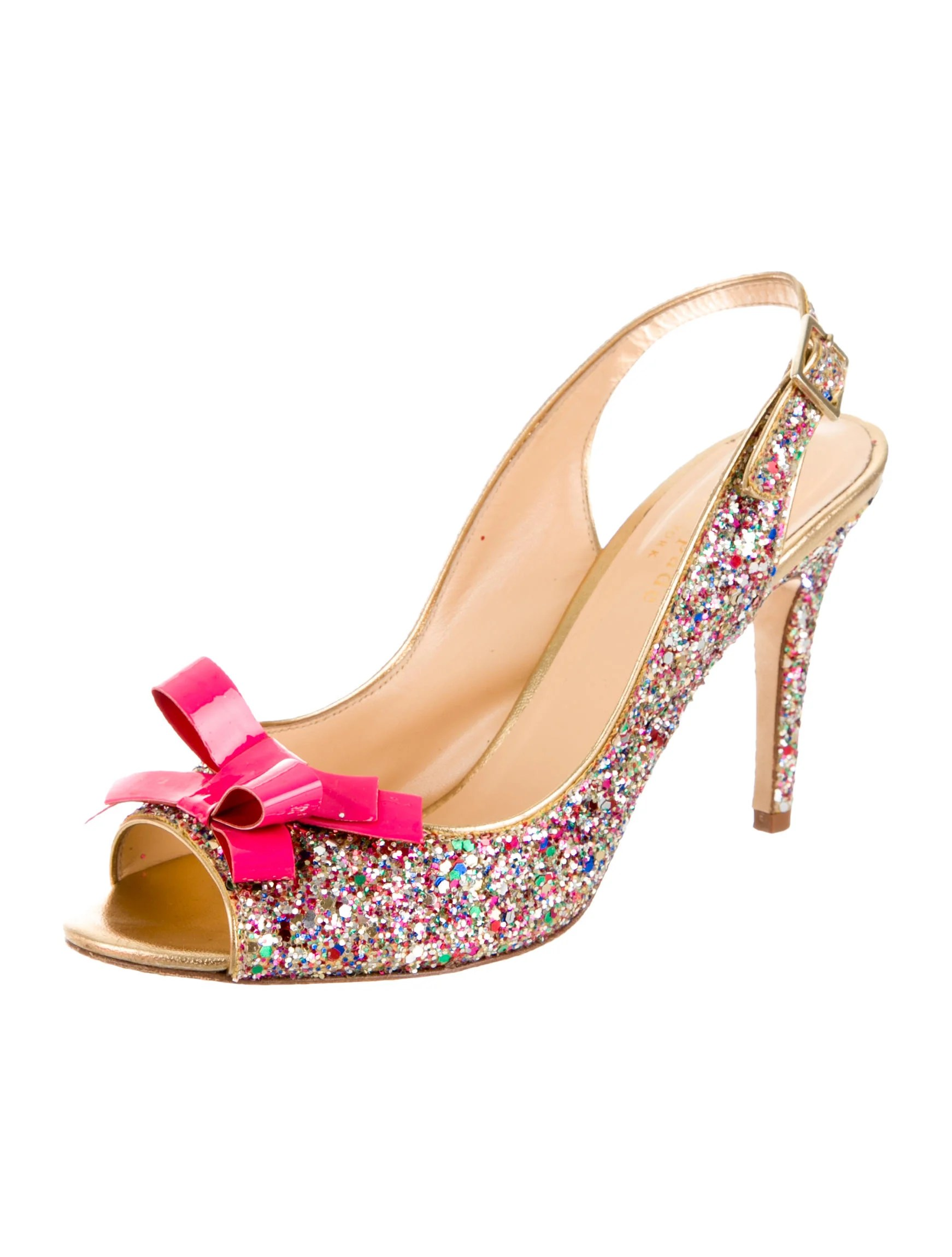 Kate Spade Glitter Shoes