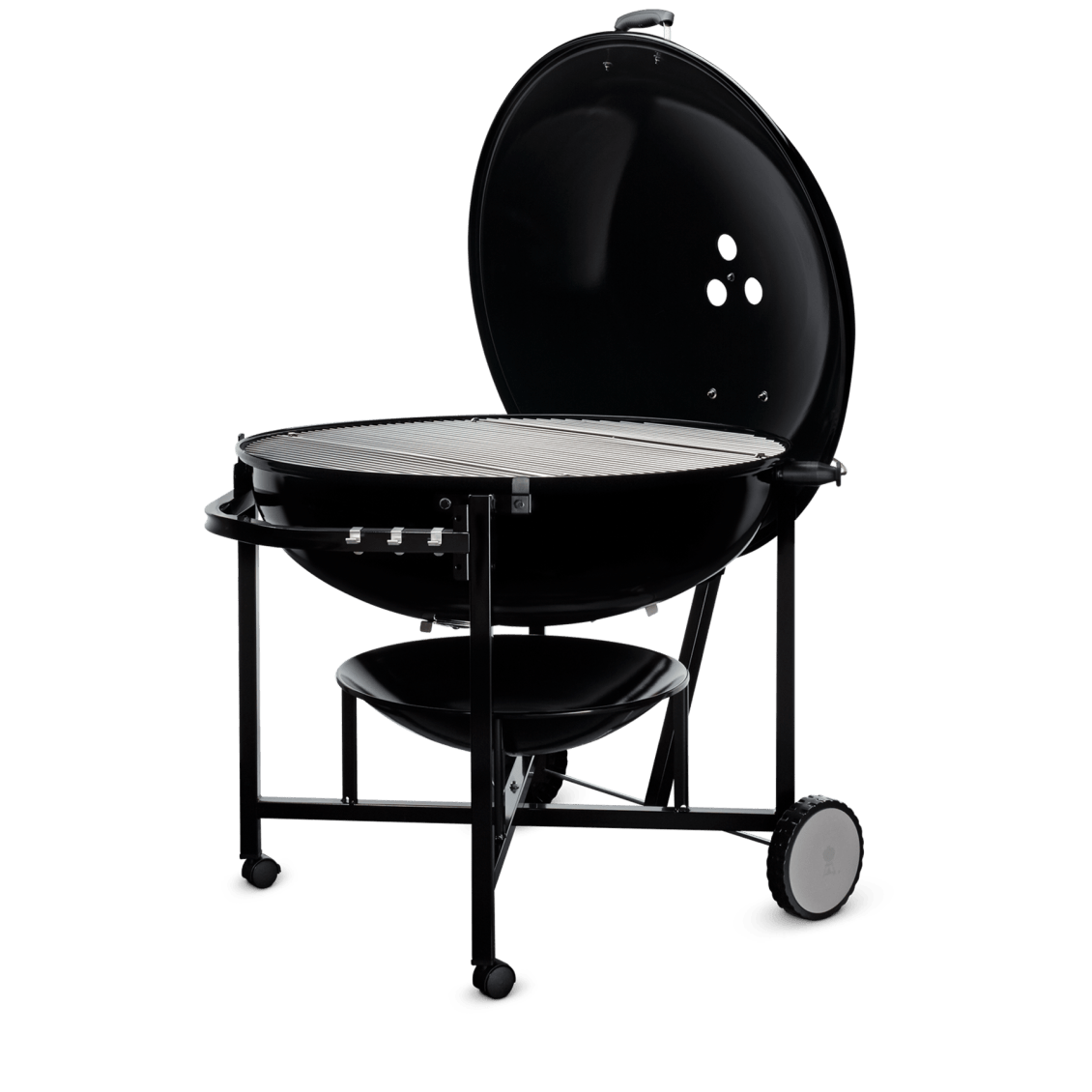 "Ranch Kettle Charcoal Grill 37"" View"