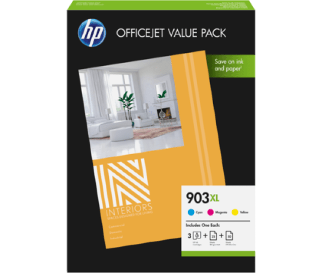 Hp 903xl Office Value Pack 75 Sht A4  Mm
