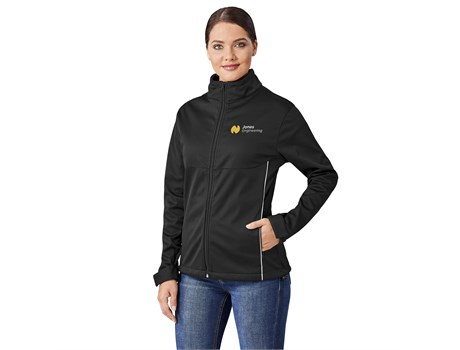 BAS-1008 US Basic Cromwell Ladies Softshell Jacket