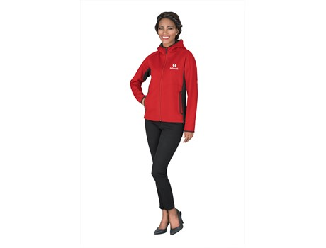 ELE-4015 Elevate Ferno Ladies Bonded Knit Jacket