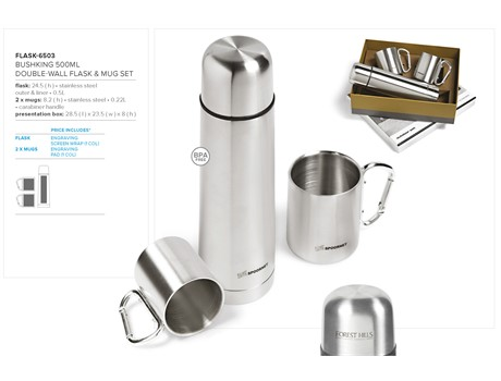 FLASK-6503 Metal drinkware