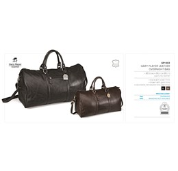 Gary Player Leather Overnight Bag