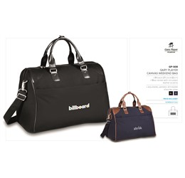 Gary Player Collection Canvas Weekend Bag