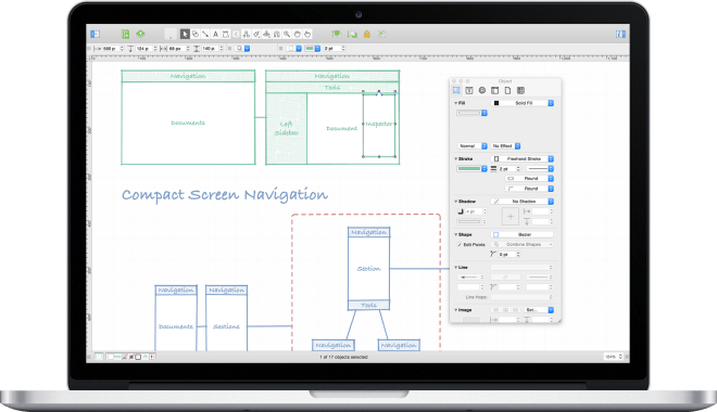 Omnigraffle on Mac