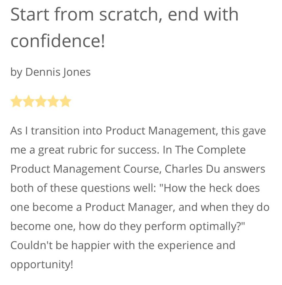 Product Management Course Productcharles Com