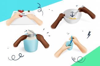 Techniques de cuisine pour faciliter les activités culinaires avec les enfants.