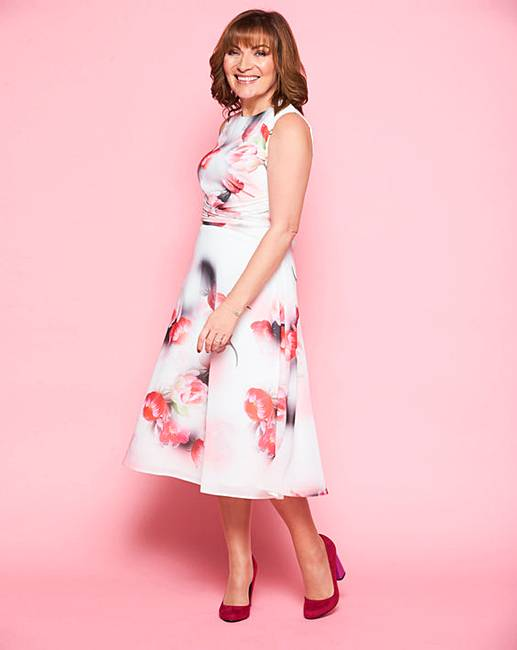 Lorraine Kelly Boat Neck Dress J D Williams