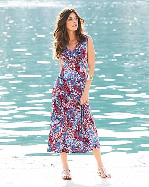 Joanna Hope Print Jersey Dress Marisota