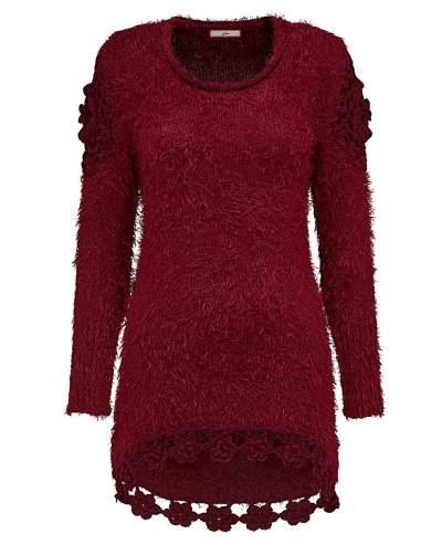 Fashion World Joe Browns Fluffy Jumper with Crochet
