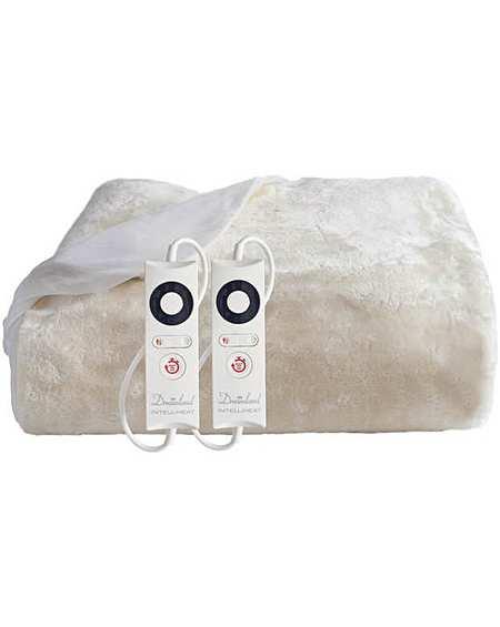 Dreamland Faux Fur Mattress Protector Ks