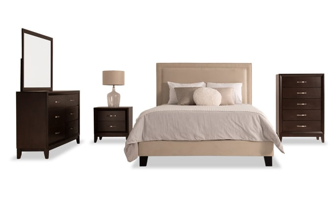 Wish List Icon Unselected Tremont Upholstered Bedroom Set