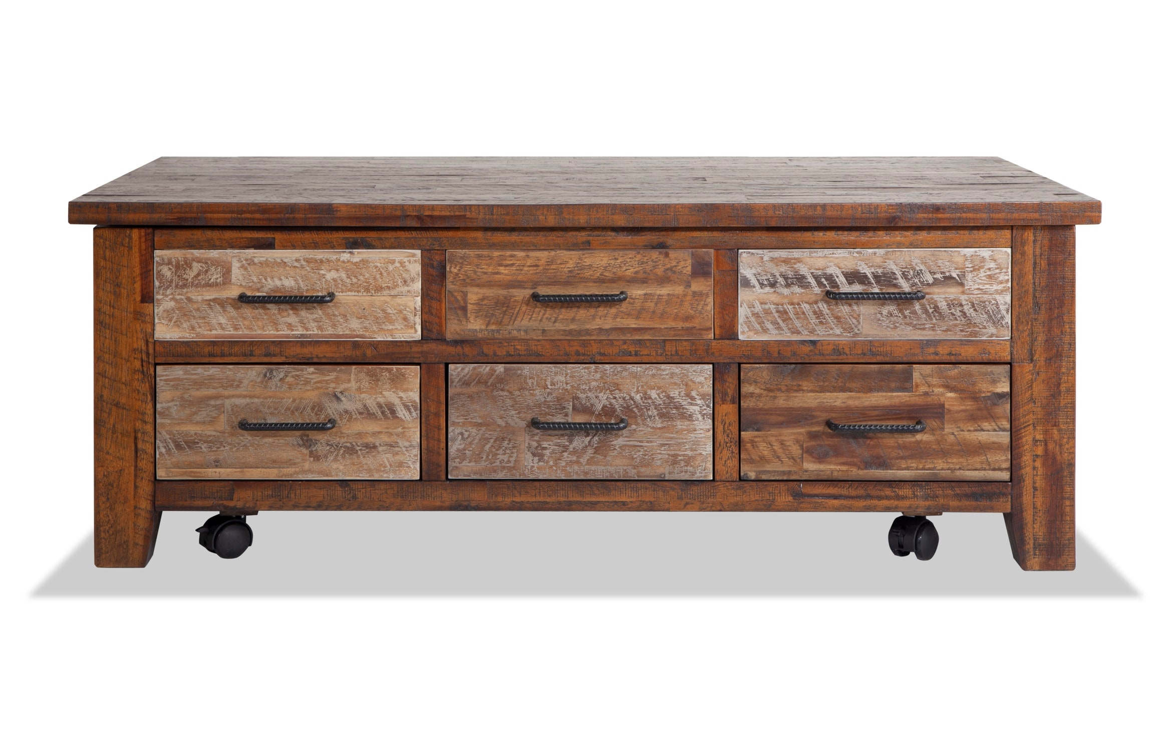 relic lift top coffee table