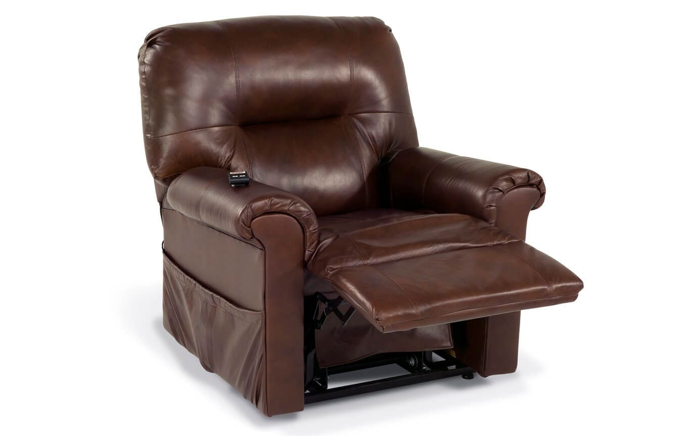 Leather Power Lift Recliner Bobs Discount Furniture