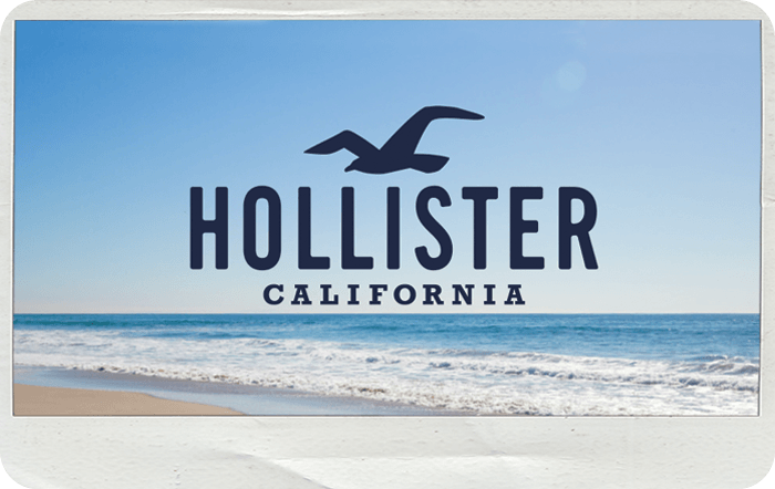 Hollister EGift Card