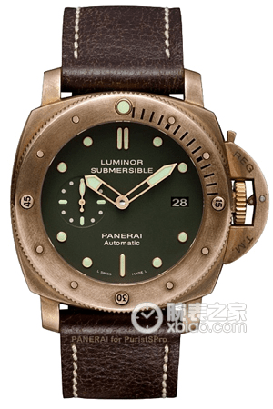 Panerai LUMINOR SUBMERSIBLE PAM 00382 Watch Review