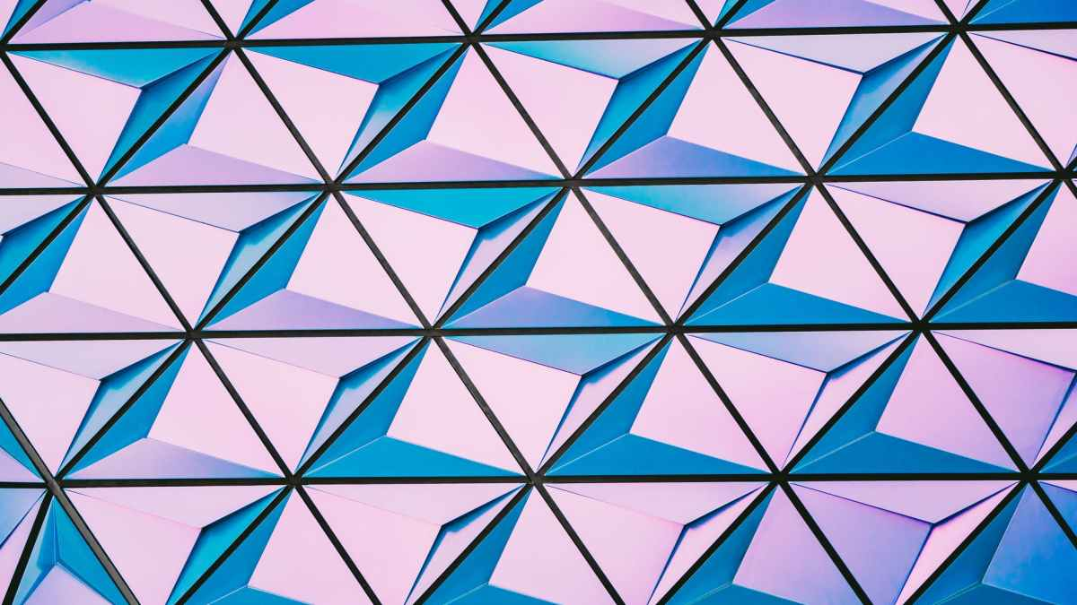 purple and blue abstract wallpaper