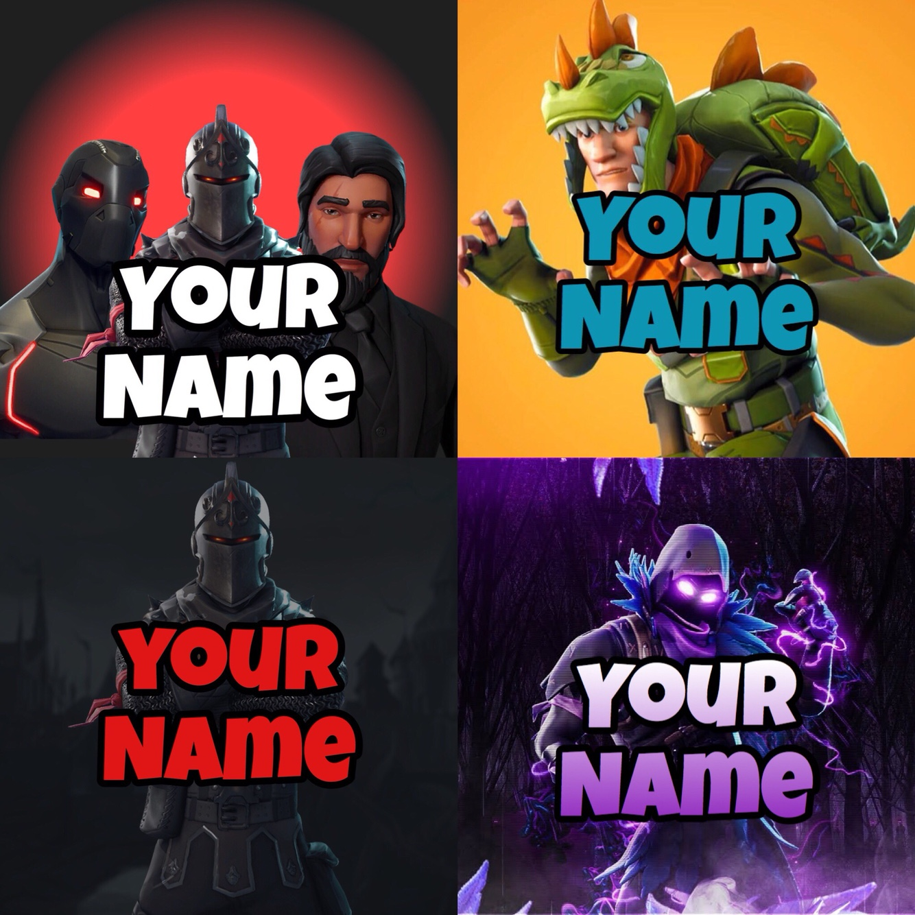 X4 DOPE Fortnite Logos Your Own Colors And Font Other Gameflip