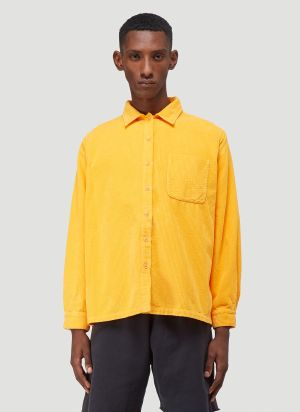 ERL Corduroy Shirt in Orange