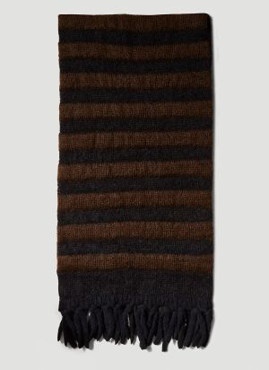 2 Moncler 1952 Tricot Scarf in Black