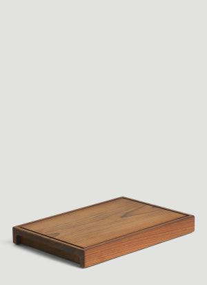 Tre Product Solid Chopping Board in Brown