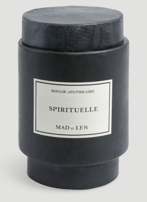 Mad & Len Small Spirituelle Candle in Black
