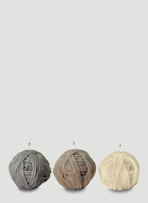 Missoni Home Three-Pack Gomitolo Candles in Beige