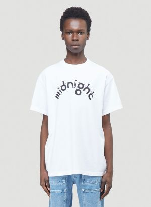 Midnight Studios X Aphex M-Flow Logo T-Shirt in White
