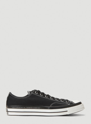 7 Moncler Fragment Fraylor Low-Top Sneakers in Black
