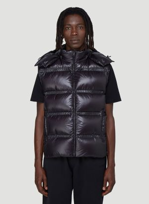 5 Moncler Craig Green Contrast-Panel Gilet Jacket in Purple
