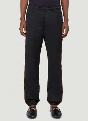 Gucci Mesh Track Pants in Black