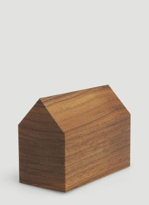 E15 AC10 Haus Paperweight in Brown