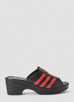 adidas by Lotta Volkova Trefoil Mules in Black