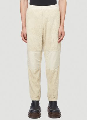 2 Moncler 1952 Fleece Pants in White