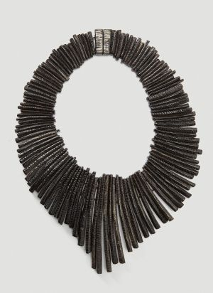 Monies Louise Necklace in Black