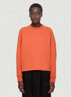Y-3 Oversized Sweatshirt in Orange