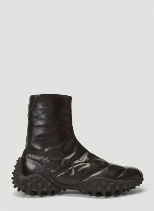 Eytys Shadow Leather Boots in Black