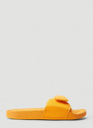 adidas by Pharrell Williams Boost Slides in Orange