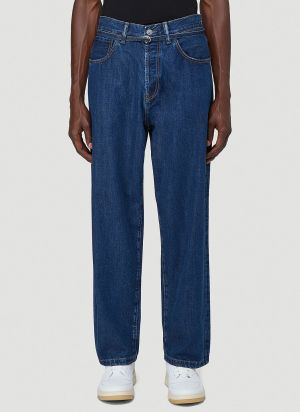 Acne Studios Straight-Leg Jeans in Blue