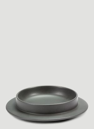 Valerie objects Dishes to Dishes Plate in Grey