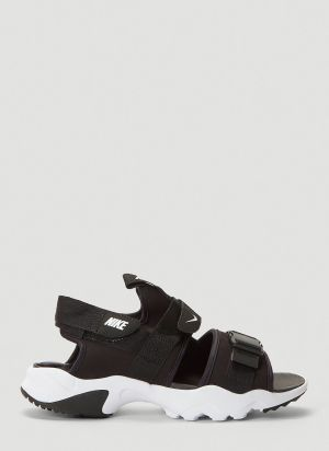 Nike Canyon Sandals in Black