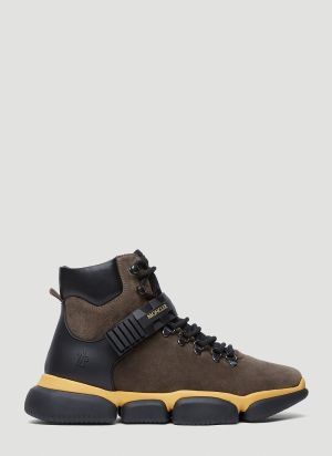 Moncler Barnaby Boots in Brown