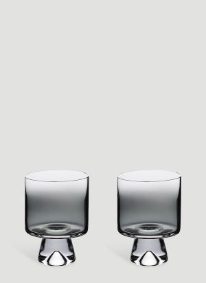Tom Dixon Tank Low Ball Set-of-Two Glasses