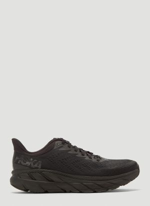 Hoka One One Clifton 7 Sneakers in Black