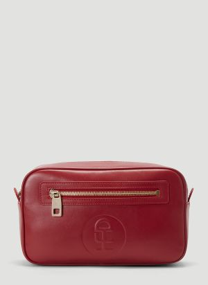 Honey Fucking Dijon Logo Beauty Case in Red