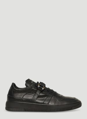 1017 ALYX 9SM Low Buckle Sneakers in Black